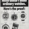 Tag Heuer【タグホイヤー】の広告 -1973年-