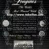 Longines【ロンジン】の広告 -1946年-