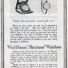 Waltham【ウォルサム】の広告 -1916年-