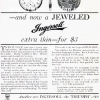 Ingersoll【インガーソル】の広告 -1916年-
