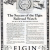 Elgin【エルジン】の広告 -1924年-