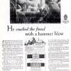 Gruen【グリュエン】の広告 -1927年-