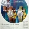 Longines【ロンジン】の広告 -1961年-