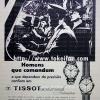 Tissot【ティソ】の広告 -1964年-