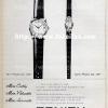 Zenith【ゼニス】の広告 -1961年-