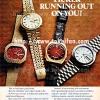 Bulova【ブローバ】の広告 -1972年-