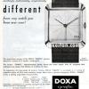 Doxa【ドクサ】の広告 -1958年-