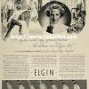 Elgin【エルジン】の広告 -1936年-