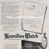 Hamilton【ハミルトン】の広告 -1920年-