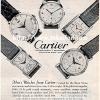 Cartier【カルティエ】の広告 -1951年-
