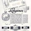 Longines【ロンジン】の広告 -1928年-