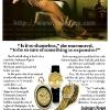 Audemars Piguet【オーデマピゲ】の広告 -1978年-