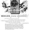 Rolex【ロレックス】の広告 -1954年-