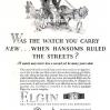 Elgin【エルジン】の広告 -1927年-