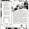 Longines【ロンジン】の広告 -1922年-