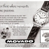 Movado【モバード】の広告 -1957年-