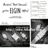 Elgin【エルジン】の広告 -1950年-