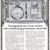 Gruen【グリュエン】の広告 -1925年-