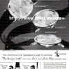 Elgin【エルジン】の広告 -1957年-