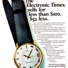 Timex【タイメックス】の広告 -1967年-