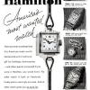 Hamilton【ハミルトン】の広告 -1952年-