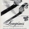 Longines【ロンジン】の広告 -1956年-