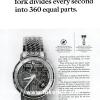 Bulova【ブローバ】の広告 -1965年-