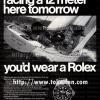 Rolex【ロレックス】の広告 -1970年-