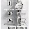 Girard Perregaux【ジラールペルゴ】の広告 -1953年-