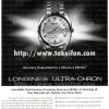 Longines【ロンジン】の広告 -1969年-