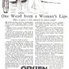 Gruen【グリュエン】の広告 -1917年-