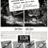 Elgin【エルジン】の広告 -1940年-