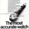 Bulova【ブローバ】の広告 -1969年-