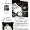 Hamilton【ハミルトン】の広告 -1926年-