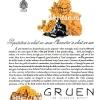 Gruen【グリュエン】の広告 -1935年-