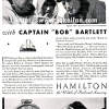 Hamilton【ハミルトン】の広告 -1932年-