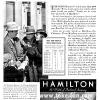 Hamilton【ハミルトン】の広告 -1934年-
