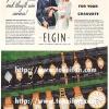 Elgin【エルジン】の広告 -1937年-