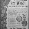 Elgin【エルジン】の広告 -1912年-
