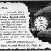 Elgin【エルジン】の広告 -1897年-