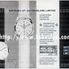 Vacheron Constantin【バセロンコンスタンチン】の広告 -1960年-