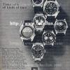 Tissot【ティソ】の広告 -1969年-